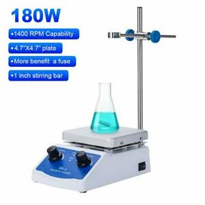 Magnetic Stirrer Hot Plate Mixer 1000ml Stirring Capacity 5 X 5 Inch Max And