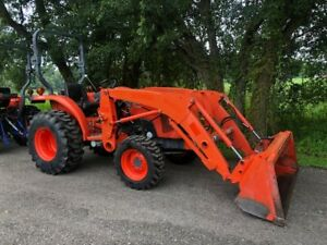 2017 Kubota L2501 Hst 4x4 with Loader And Quick Attach Bucket