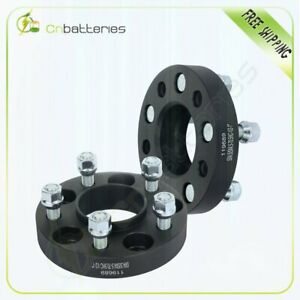 2 Pcs 5x4 5 1 Wheel Spacers 1 2 Studs For Ford Mustang Edge Ranger Cb 70 5mm