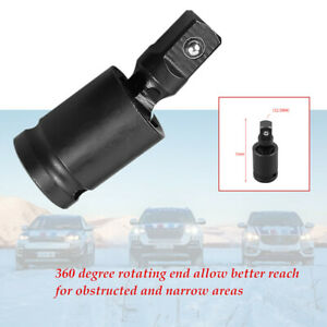 360 Degree Rotating End 1 2 Electric Wrench Socket Interface Movable Joint