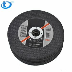 50 Pack 4 x 040 x5 8 Cut Off Wheel Metal Stainless Steel Thin Cutting Discs