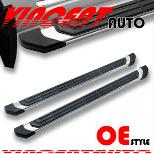 For 09 18 Dodge Ram 1500 Quad Cab 4 5 Running Board Side Step Nerf Bar S S Fr