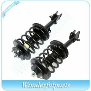 For 2003 08 Honda Pilot 2 Pieces Front Complete Struts Shocks W spring Assembly