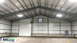 Steel Factory Mfg 50x70x16 Metal Frame I beam Workshop Storage Garage Building