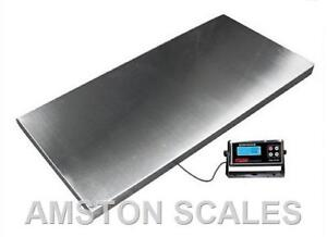 Extra Large Digital Shipping Scale 1000 X 0 5 Lb 43 X 20 Postal