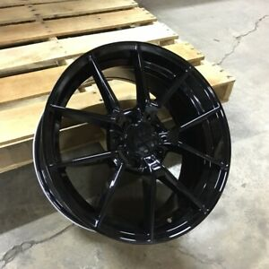 18 Gloss Black M3 Cs Style Wheels Rims Fits Bmw 528i 535i 5 Series Awd Only