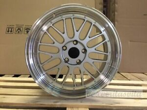 19 Wheels Rims Lemans Style Silver Fits Bmw E46 E90 E92 E93 F30 F32 F33