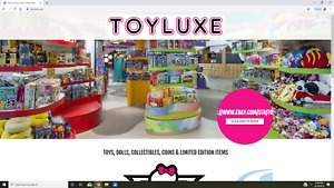 Toyluxe Toy Doll Collectible Store For Sale Trademark Name Website All Inventory