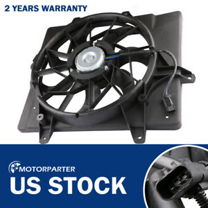 Fits 2001 2005 Chrysler Pt Cruiser 2 4l Radiator Cooling Fan W Motor Front