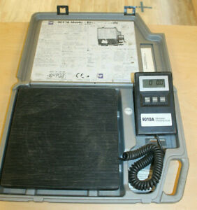 Tif 9010a Slimline Refrigerant Electronic Charging Scale W Case Pre owned