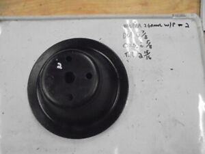 Dodge Plymouth 318 340 360 Single Groove Water Pump Pulley 2