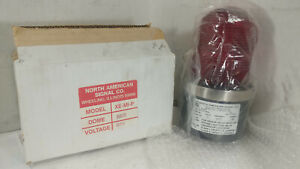 1 New North American Signal Xe mi p Strobe Light 24v Red Nib make Offer
