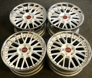 18 Gulf Stich Wheels Jdm Ssr Work Vs Xx Bbs Mesh S13 S14 350z Rx7 Mr2 Supra 4