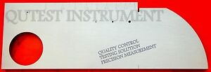 New Aws Iiw Type 2 Carbon Steel Calibration Standard Inch Test Block With Box