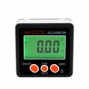 Digital Level Protractor Inclinometer Magnetic Level Angle Meter Angle Finder