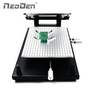 Pcb Solder Paste Printer Frameless Type For Smt Prototyping