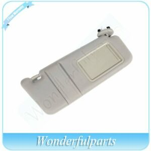 Car Sun Visor Front Right Side Tan beige W sunroof For 2007 2011 Toyota Camry