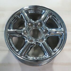 99 00 Yukon Escalade Denali 16 Wheel Rim Factory Oem 9593137 Chrome Whgm03