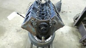 1973 Pontiac Firebird Trans Am 350 5 7 Engine Block 488986