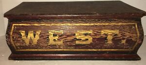Early Pennsylvania Paint Decorated Bible Box Document Box Identified
