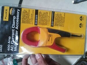 Fluke I400 Ac Clamp On Current Probe 1 To 400a Factory Sealed