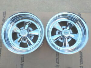 Vintage Cragar Ss 15x8 4 3 4 Gm B C Wheels 1972 Dated Chevy Olds Buick Pontiac