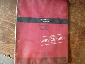 John Deere 1210 Grain Cart Owner Owner s Operator Maintenance Manual Om ga10217