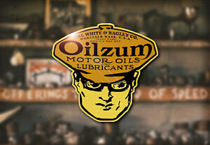 Vintage Oilzum Water Decal Hot Rod Rat Flathead Ford Drag Race Oil Model A T 32