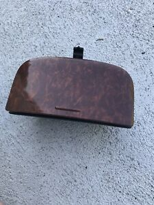 01 06 Acura Mdx Front Center Console Cup Holder Wood