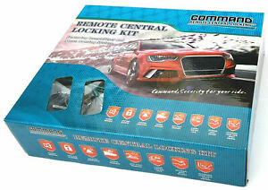Command 4 Door Remote Control Central Locking Kit Inc Immobiliser
