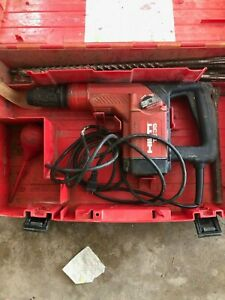 Hilti Te 35 Te35 Te 35 Sds Rotary Hammer Drill With Case Bits Chisels Make Offer