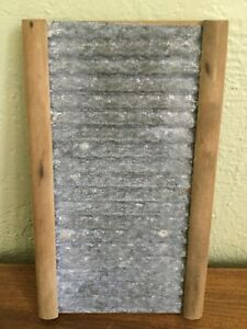 Antique Vintage Real Silk Hosiery Mills Washboard