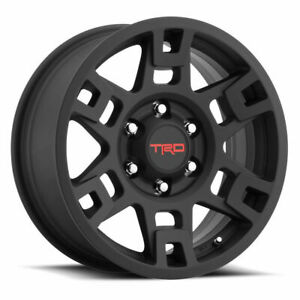 Genuine Toyota 17 Black Trd Pro Wheels Tacoma 4runner Fj Cruiser Set Of 4