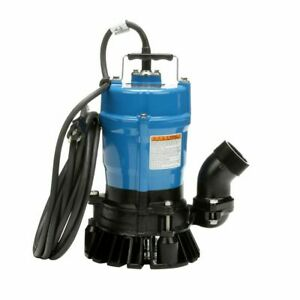 Tsurumi Hs2 4s 62 53 Gpm 2 Submersible Trash Pump Brand New