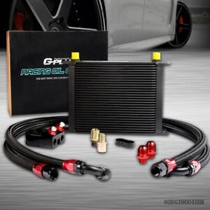 Gplus 30 Row An10 Universal Engine Oil Cooler Oil Lines Filter Adapter Kit