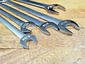 Classic Craftsman v Thin Tappet Wrench Set 5 Pc Sae Usa Made Free Shipping