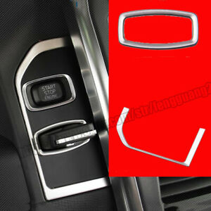 For Volvo Xc60 2009 2017 Car Keyhole Panel Decoration Trim Stainless Sequins
