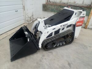 2019 Bobcat Mt55 Mini Track Loader 52 Hours Aux Hydraulics 24 8 Hp Diesel
