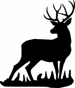 Deer Hunting Decal Sticker For Car Or Truck Window Free Shipping