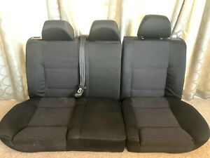 00 05 Volkswagen Vw Jetta Gli Sedan Recaro Rear Seat Set Seats Mk4 Black