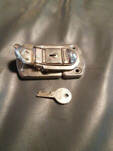 Vintage Excelsior Trunk Lock Original Key 127 Latch Lock