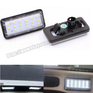 Led License Plate Light 2pcs For Toyota Land Cruiser Lc100 Prado Lc120 2003 2009