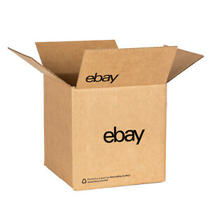 Ebay branded Boxes With Black Color Logo 8 X 8 X 8