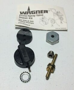Wagner 0295918 Prime spray Valve Repair Kit For 935 And 945 Piston Pumps