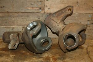 1975 Ford F250 Hd Dana 44 Front Axle Differential Big Knuckle Cut Offs