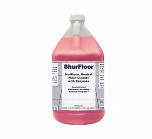 Detco Shurfloor No rinse Biodegradable Enzymatic Floor Cleaner Concentrate