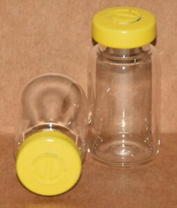 Usp 10 Ml Clear Sterile Vial With Yellow Center Tear Seal 5 Pack