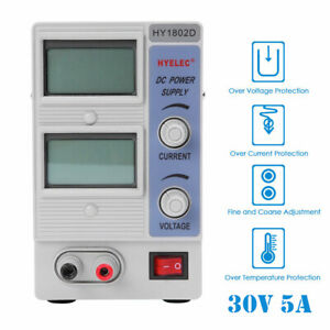 30v 10a Adjustable Dc Power Supply Precision Variable Lcd Digital Lab My
