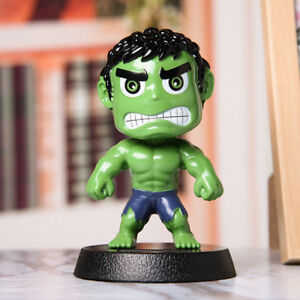 Car Accessory Decoration Toy The Hulk Green Giant With Shaking The Head Doll Nod