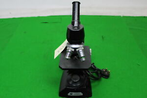Vintage Vickers Laboratory Microscope In Great Condition W 2 Objectives Ideal